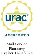 URAC Accredited Mail Service Pharmacy logo