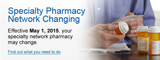 Specialty Pharmacy Network Changing