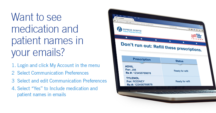 See medication and patient names in your emails!